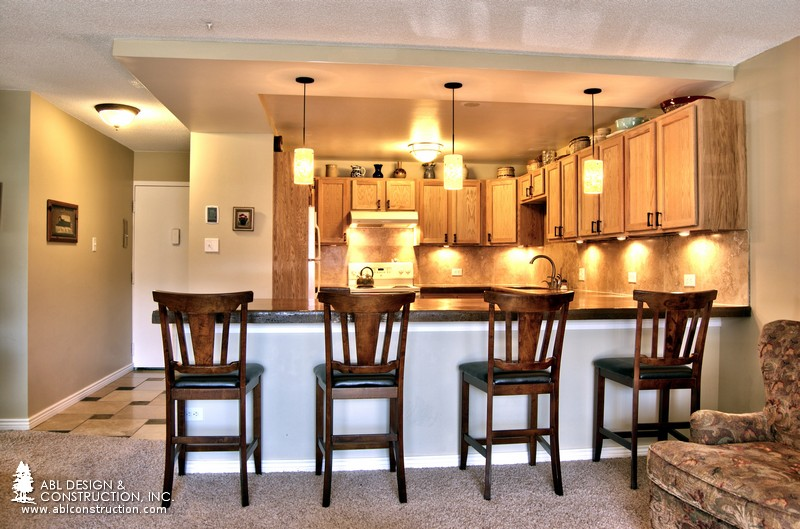 O riginally constructed in 1969 this 945 square foot condo was in dire need  of a facelift  The original layout squeezed the kitchen into 62 square feet. Windsor Gardens Condo Remodel   Denver